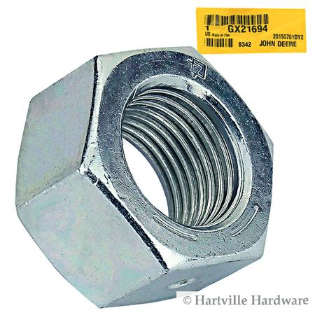 - John Deere Original Equipment Lock Nut #Gx21694
