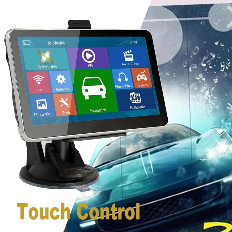 5'' Car GPS Navigation System Sat Navi 8GB 512M Truck GPS Navigators Free Map