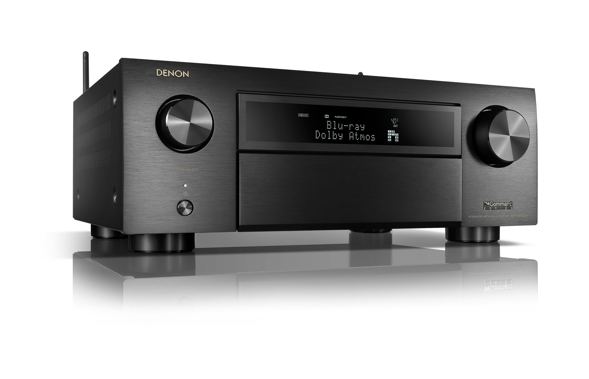 Denon AVR-X6500H 11.2 Channel 4K Reciever with 3D Audio and Amazon Alexa Voice Control by Denon
