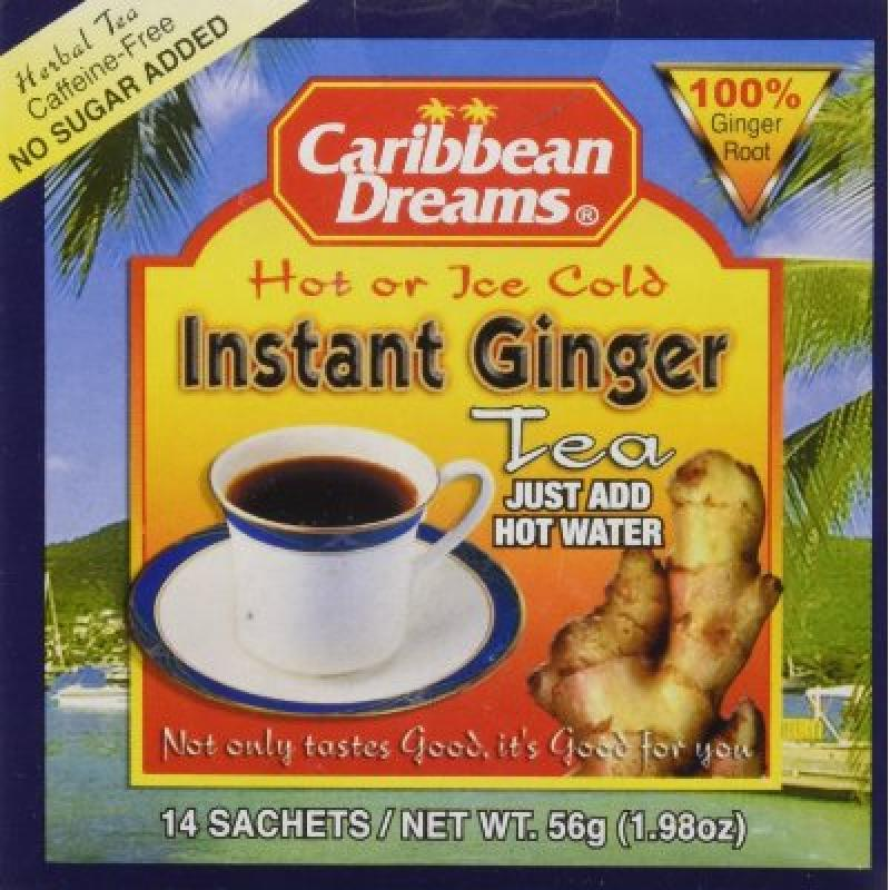 Jamaican Teas Caribbean Dreams  Herbal Teal, 14 ea