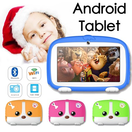 Hot 7inch Tablet PC 8GB HD Android 4.4 Dual Camera WiFi Quad Core kids tablet Gift