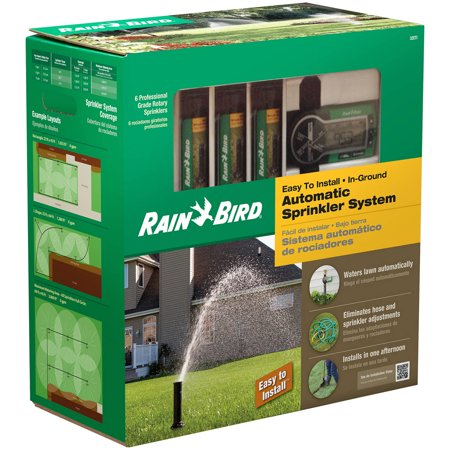 Rain Bird 32ETI Underground Irrigation Automatic Sprinkler System (Rain Bird Sprinkler System Not Turning On)