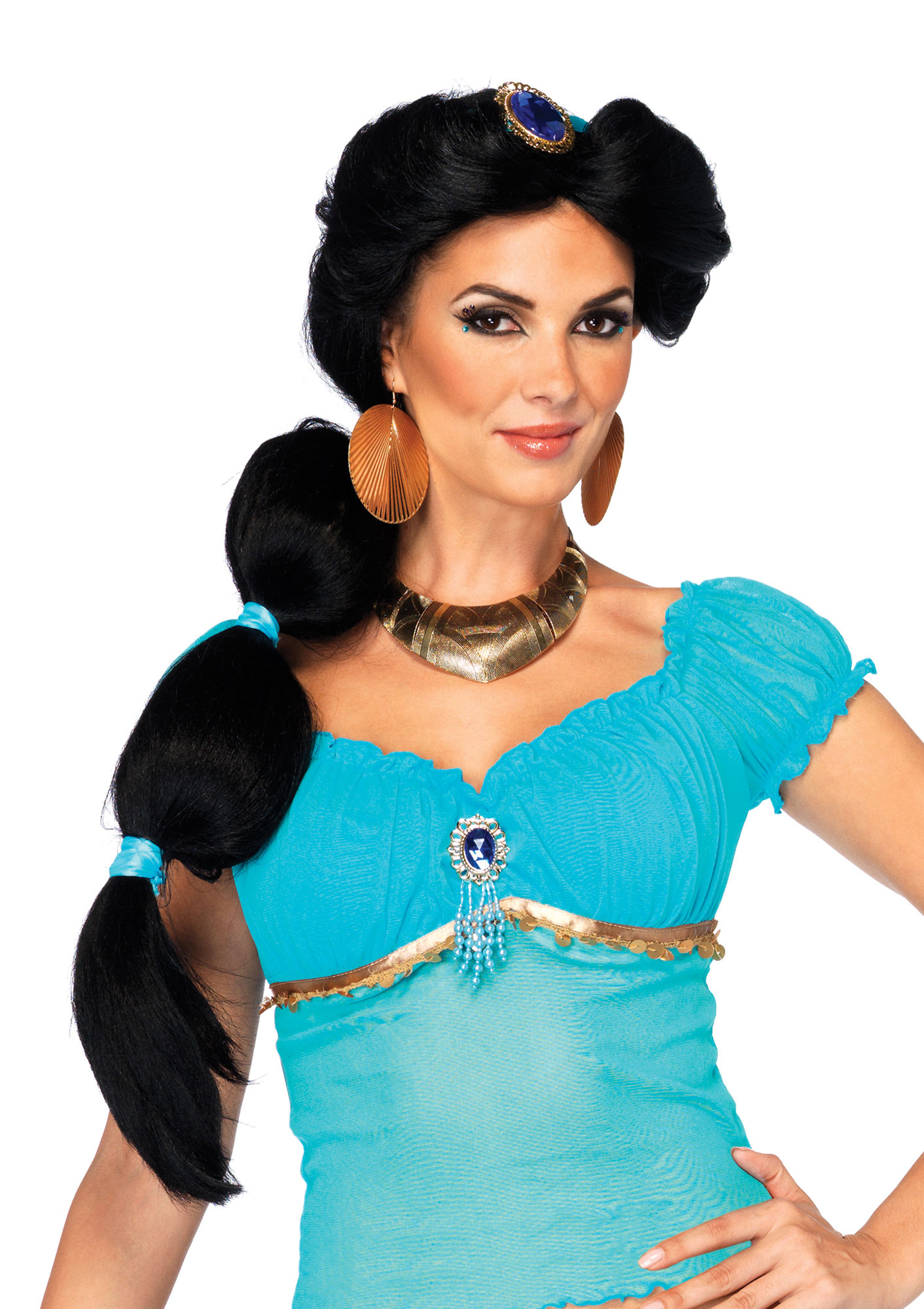 Disguise Womens Jasmine Adult Wig