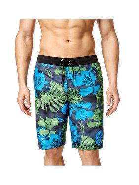 Speedo Mens Tropical Print Swim Bottom Trunks
