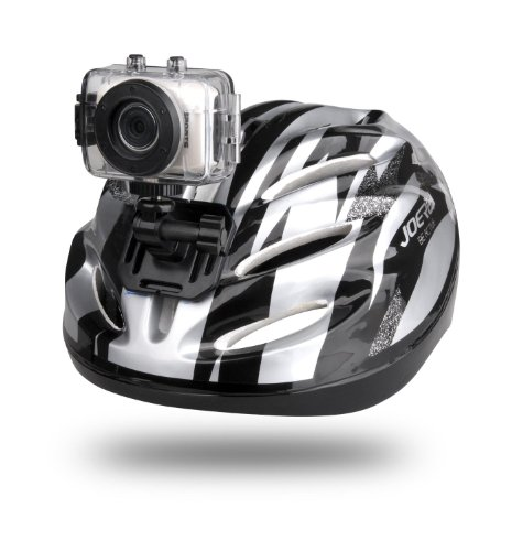 High-Definition Sport Action Camera 720p Wide-Angle Camcorder With 2.0 Touch Screen SD Card Slot USB Plug And Mic (SIlver color)