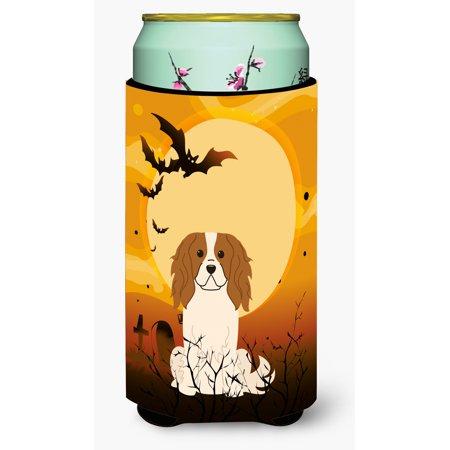 Halloween Cavalier Spaniel Tall Boy Beverage Insulator Hugger BB4324TBC](Bulls Cavs Halloween)