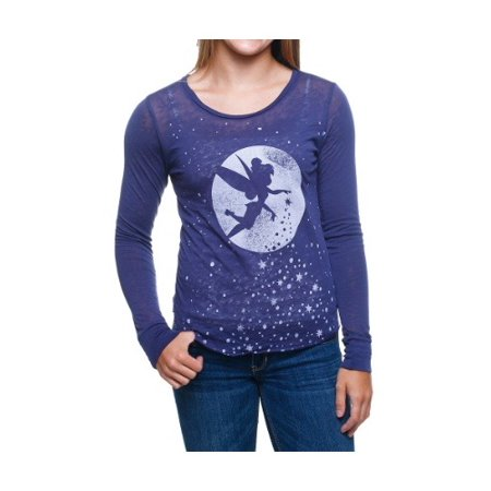 Peter Pan Tink Fly Moon Stars Juniors Pullover All Star Pullover