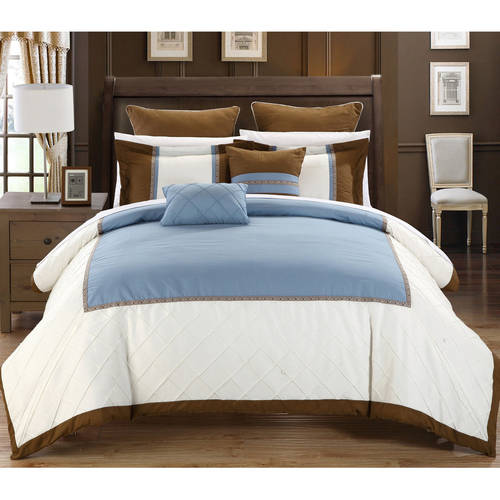 Chic Home  Greenwood Embroidered 7-piece Comforter Set