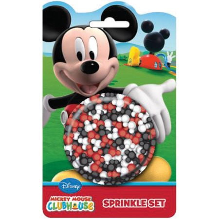 Mickey Mouse Cake Decorations (Disney Mickey Mouse Clubhouse Sprinkle Set,)