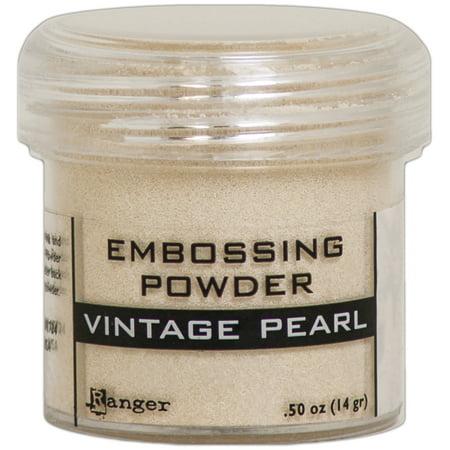 (Ranger Embossing Powder-Vintage Pearl)