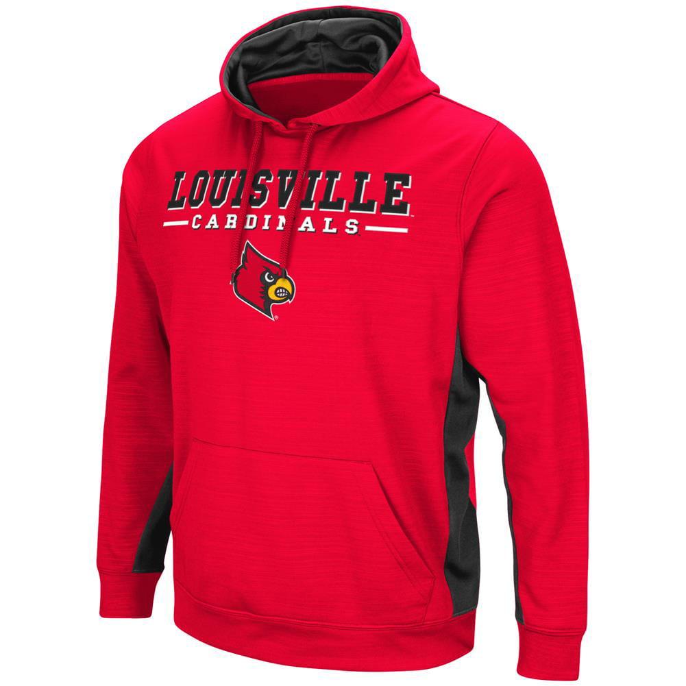 Louisville Cardinals Hoodie Performance Fleece Pullover Jacket