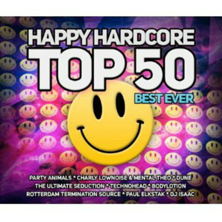 Happy Hardcore Top 50 Best Ever / Various (Top 50 Best Breast Ever)