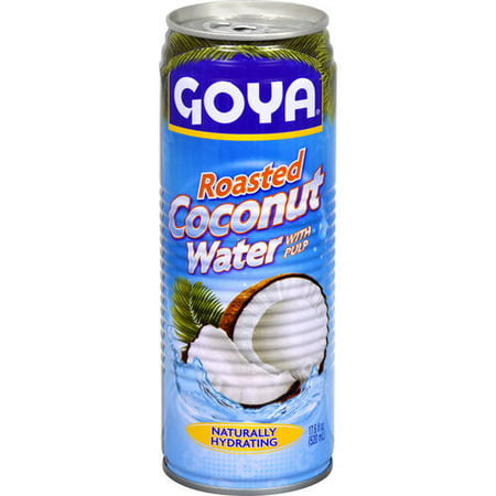 Goya Roasted Coconut Water with Pulp, 17.6 fl oz