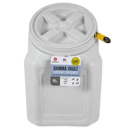Gamma Vault Stackable 60 lb. Airtight Pet Food Container