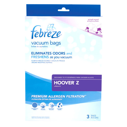 Febreze Vacuum Bags, Hoover Style Z, Pack of 3