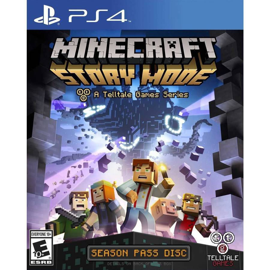 Minecraft: Story Mode - Season Disc (PS4) MCSP4ST