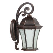 Yosemite Home Decor Vernon Lake 7230 Outdoor Wall Sconce - 12.6W x 14.17D x 22H in.