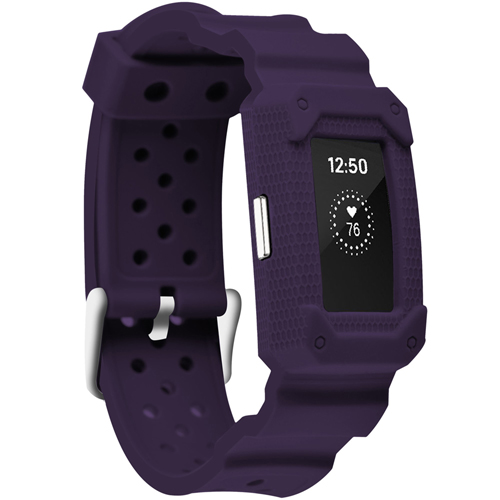 Moretek for Fitbit Charge 2 bands,Fitbit Charge 2 HR Strap(Purple)