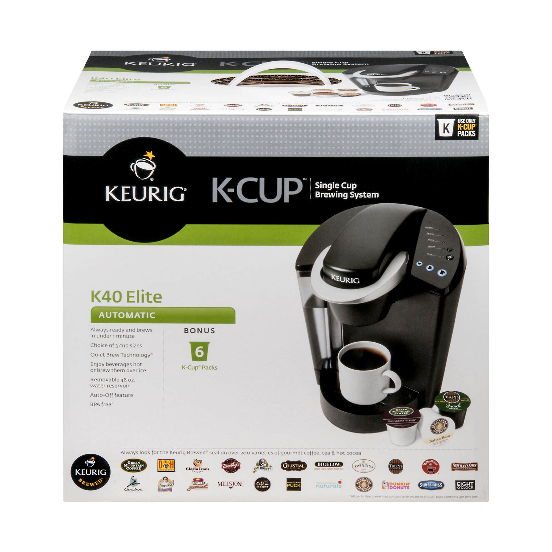 Keuring K-Cup Single Cup Brewing System, 1.0 CT