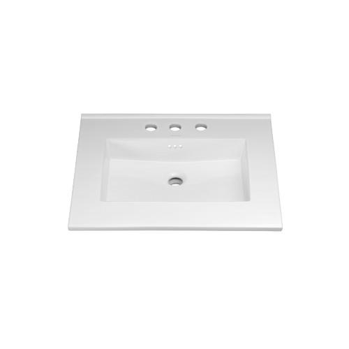 Ronbow Overflow 24'' Single Bathroom Vanity Top
