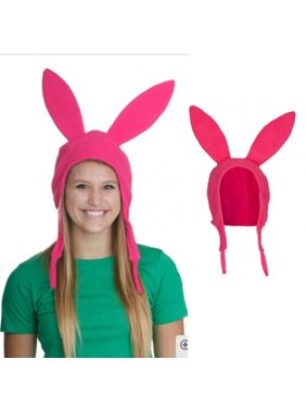 Pudcoco Family Matching Hat Louise Bunny Ears Cosplay Beanie Pink Hat Mom Girl Party US