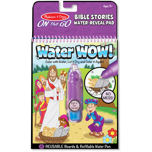 Melissa & Doug Water Wow!, Bible Stories Water Reveal Pad