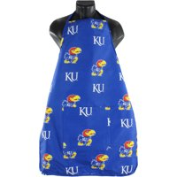 "Kansas Jayhawks Tailgating or Grilling Apron With 9"" Pocket, Fully Adjustable"