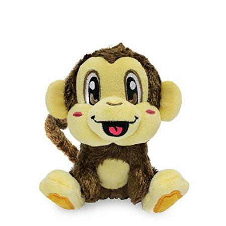 Scentco Smanimals Banana Monkey - Gourmet Scented Plush Stuffed Animal - Cute Monkey Stuffed Animal