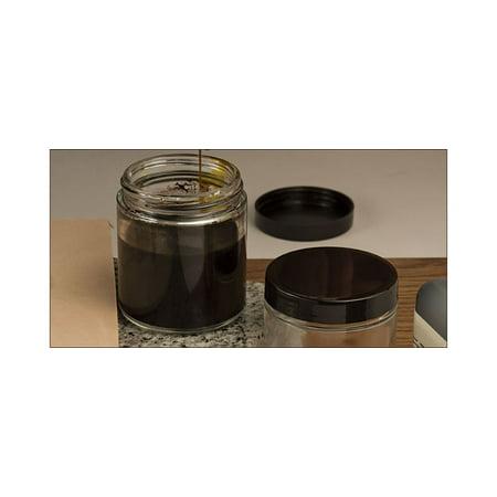 Tandy Leather Glass Mixing Jar 4 fl. oz. (124 ml) - 124 Glasses