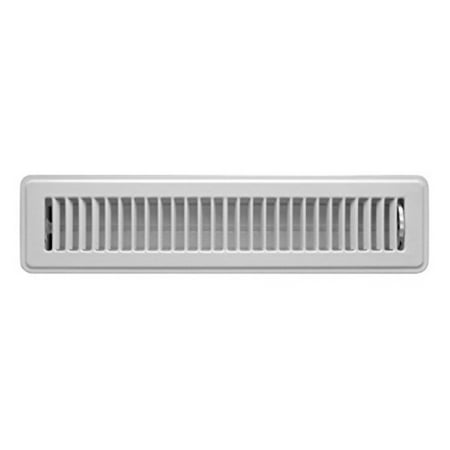 Accord ABFRWH214 Floor Register with Louvered Design, 2-Inch x 14-Inch(Duct Opening Measurements),