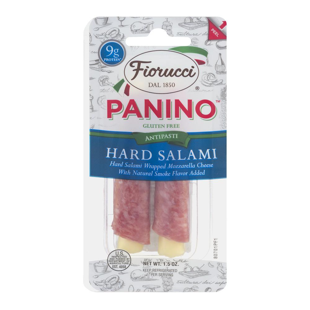 Fiorucci 1.5 oz. Hard Salami & Mozzarella Panino