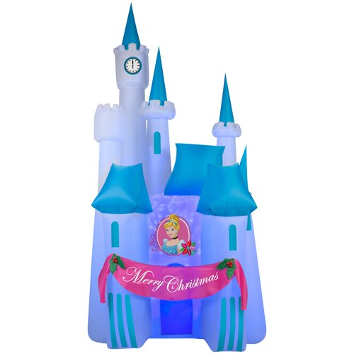 Cinderella Projection Airblown Christmas Decoration