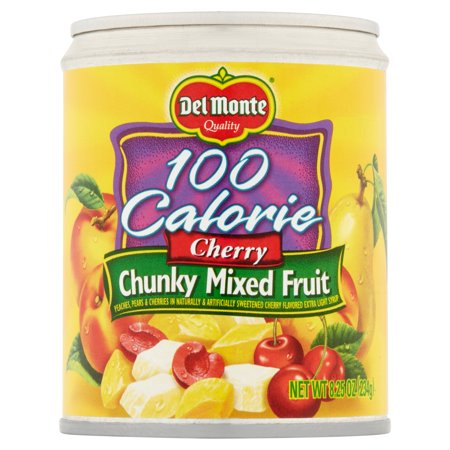 Del Monte 100 Calorie Cherry Chunky Mixed Fruit, 8.25 oz