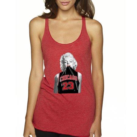 Trendy USA 445 - Women's Tank-Top Marilyn Monroe Chicago 23 Jordan Jersey XS