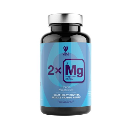 Double Magnesium â?? Best Absorption, Double Source, Magnesium Citrate and Magnesium Carbonate. Daily Dose Pills Provide 250 mg Super Quality Magnesium. 90 Veggie Capsules, 45 Day (Best Quality Iron Supplement)