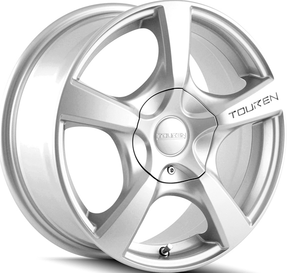 Touren TR9 18x8 5x108/5x114.3 +40mm Silver Wheel Rim
