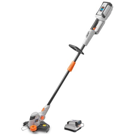 VonHaus 40V Max Cordless String Trimmer / Edger - Angle Adjustment, Grass Edge Guide and Head Rotation - Battery Included - Part of the VonHaus 40V Max Lithium-ion G Range (Max G Sonnenbrille)