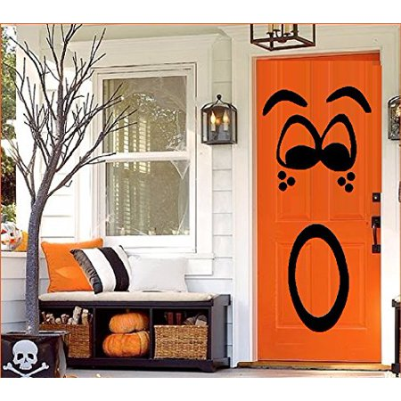 Halloween Ii Best Scenes (HALLOWEEN DECOR ~ PUMPKIN FACE #2 For Door, or Wall ~ HALLOWEEN: 20