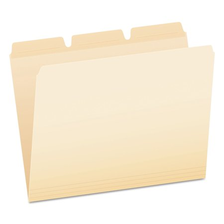(Pendaflex Ready-Tab File Folders, 1/3 Cut Top Tab, Letter, Manila, 50/Pack -PFX42336)