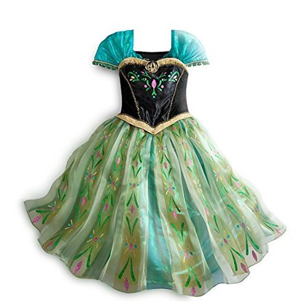 Disney Store Frozen Princess Anna Deluxe Coronation Costume 9/10