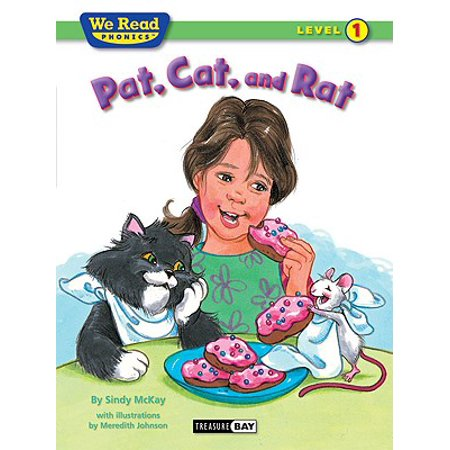 Pat, Cat, and Rat (Paperback)