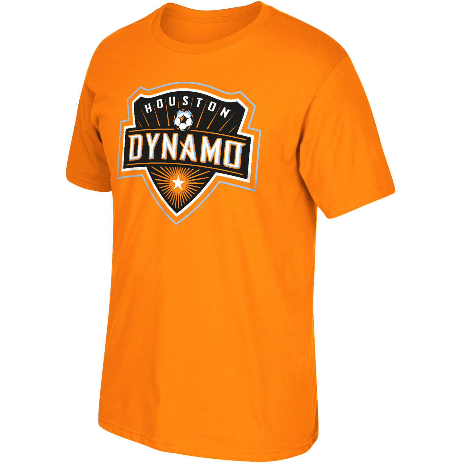 MLS Houston Dynamo Big Mens Oversized Logo Short Sleeve Tee, 2XL