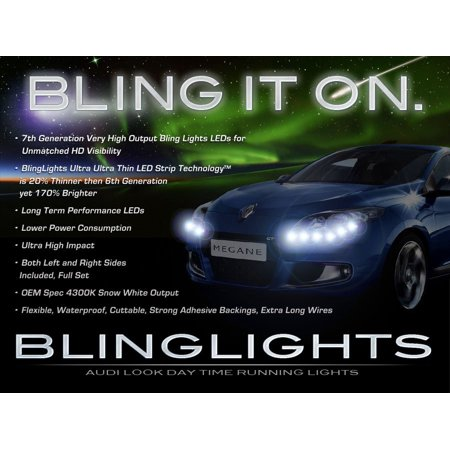Genie Of The Lamp (Renault Mégane LED DRL Light Strips Day Time Running Lamps Headlamps Headlights Head)