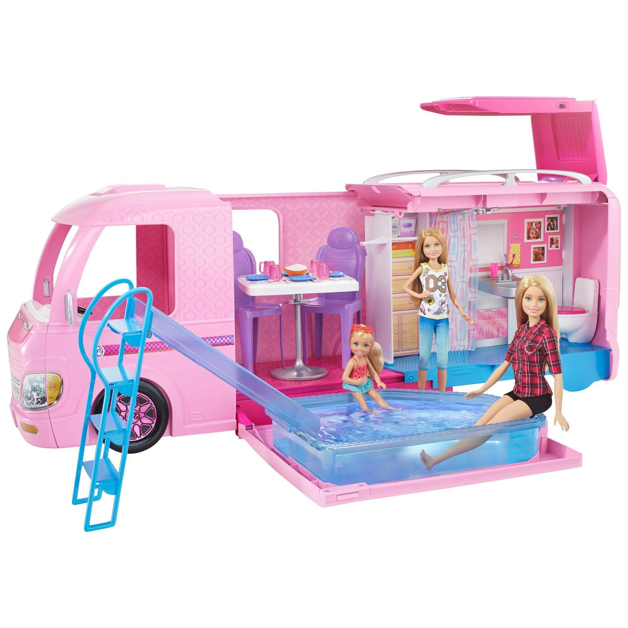 Barbie DreamCamper Adventure Camping Playset with Accessories by Mattel
