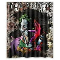 Ganma Batman Joker Jack Shower Curtain Polyester Fabric Bathroom Shower Curtain 60x72 inches