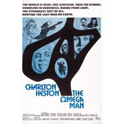 The Omega Man From Top Left Charlton Heston Lincoln Kilpatrick Anthony Zerbe On Poster Art 1971 Movie Poster Masterprint by Everett Collection