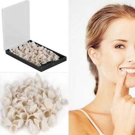 50Pcs Dental Teeth Temporary Crown Veneers Material Anterior Front/ Back Molar Teeth(2Types to