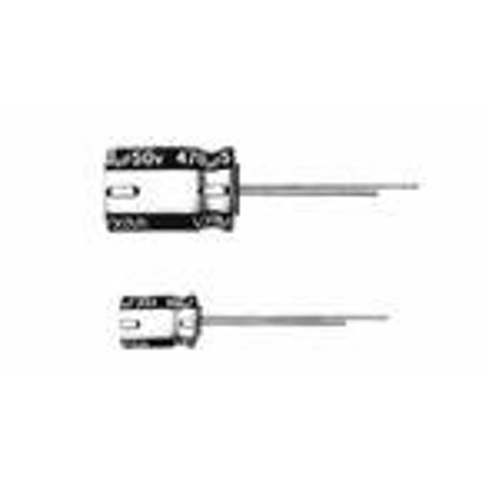 UVX1H2R2MDA 2.2uF 50V Radial Lead 5 X 11 Electrolytic Capacitor (10 pack) - UVX1H2R2MDA