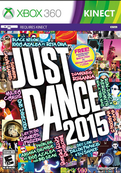 Just Dance 2015 (Xbox 360) Ubisoft, 887256301071