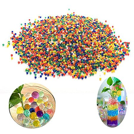 - Great Deal 10000Pcs Water Beads Pearls Jelly Gels Mud Crystal Soft Bullets